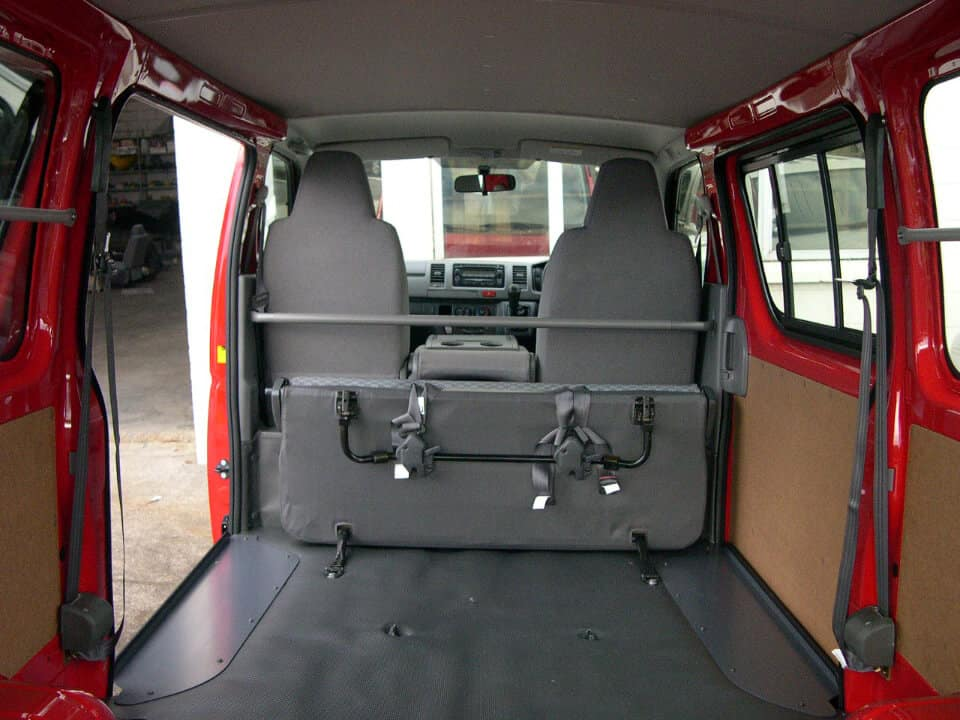 City-Trim-Speciality car works Seats-roof linings-carpeting-inside-van